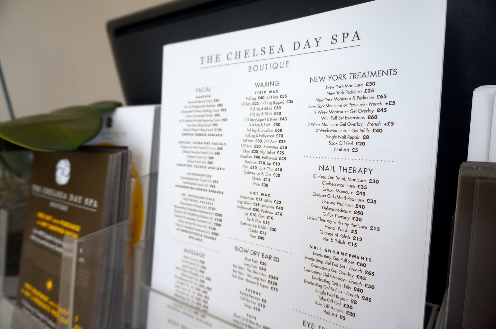 the chelsea day spa