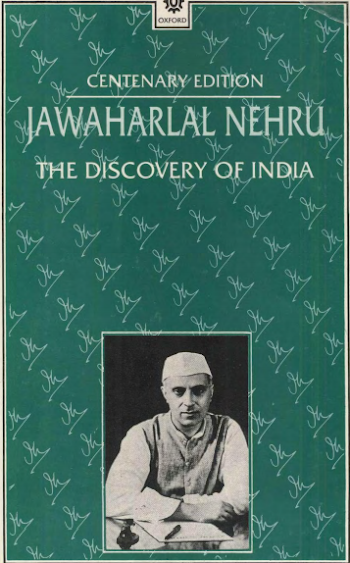 The Discovery Of India Novel By Jawahar Lal Nehru