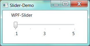 Tech: WPF Slider with annotations