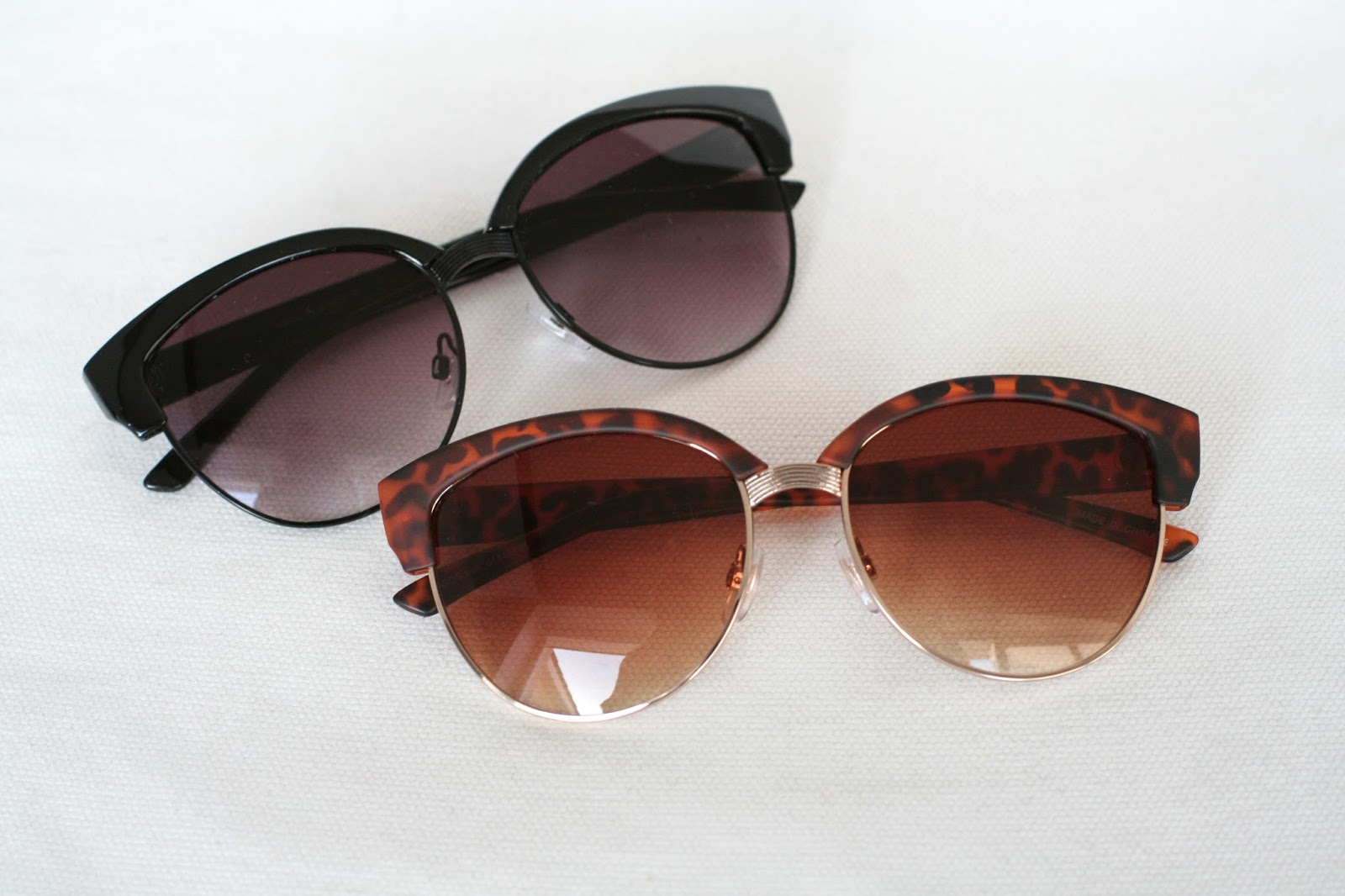 b3ea7683076 One of my favourite sunglasses of all time  ASOS Half Frame Angular Cat Eye  Sunglasses - Black €15.58  ASOS Half Frame Angular Cat Eye Sunglasses -  Tortoise ...
