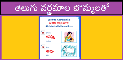 Telugu Teaching Learning Material for Primary Classes Download Here Telugu TLM with Attractive Pictures for Varnamala Primary Sections Useful Material for Teachers at Elementary Level with Telugu to English like Dictionary children can go through easily. Spelling Comparion also children can learn Telugu to English with this Teachning Learning Material Download Free PDF Now telugu-tlm-varnamala-with-pictures-free-pdf-download