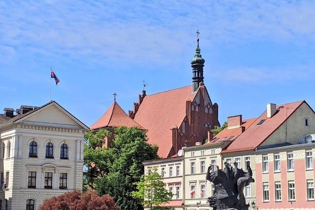 Stary Rynek: Old Market Square in Bydgoszcz Poland
