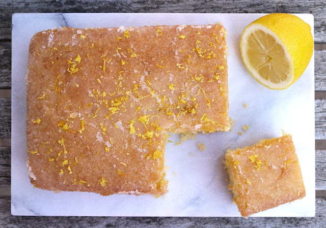 Easy Peasy Lemon Drizzle Cake The Betty Stamp