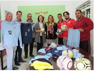 Miracatu recebe materiais esportivos do Governo do Estado de São Paulo