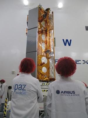 PAZ Satellite by Airbus