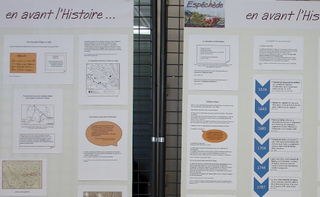 Exposition Espéchède, en avant l'Histoire