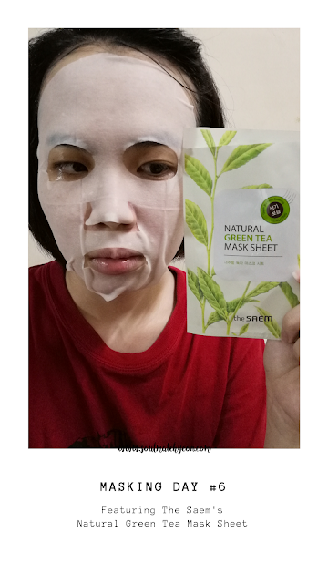 [Monthly Project] #25 7-Day Sheet Mask Challenge (feat. The Saem)