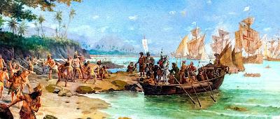 22 de abril de 1500, data que CABRAL chegou ao Brasil, é o dia do descobrimento do Brasil
