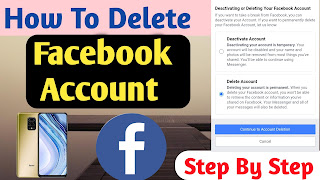 Facebook Account कैसे मिटाए   How To Delete Facebook Account By Technical Rakesh
