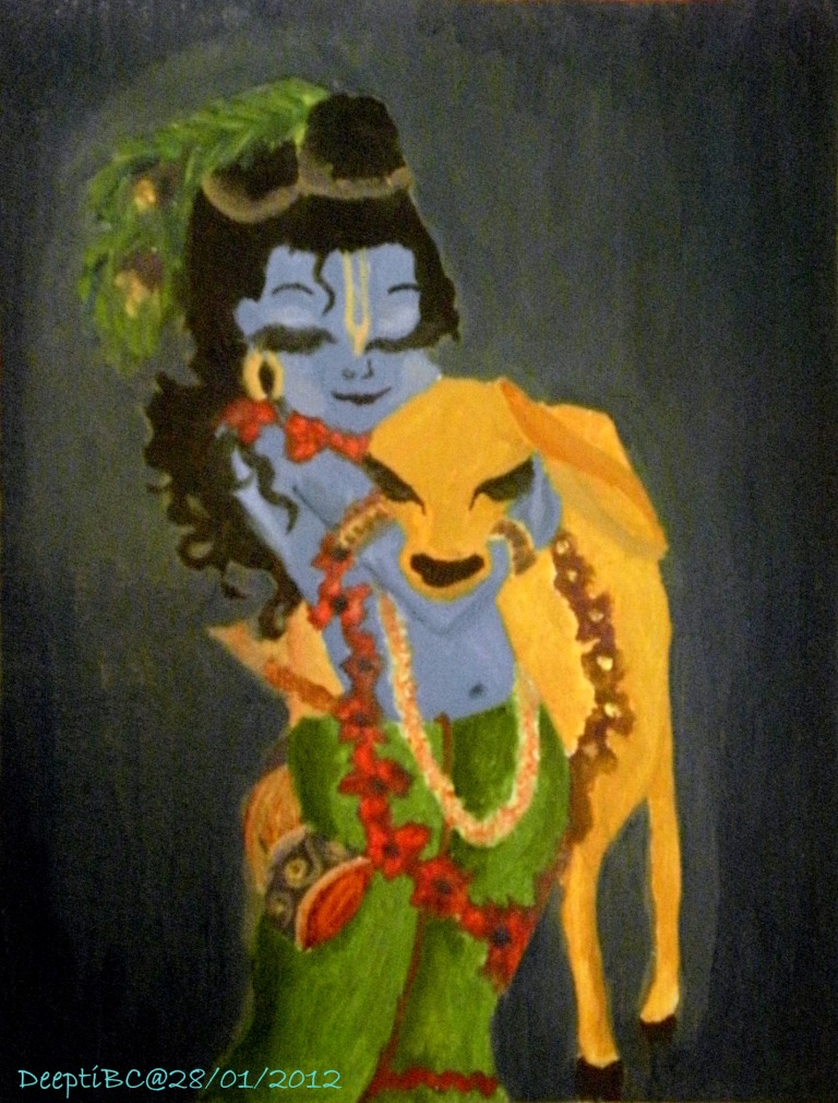 Krishna Paintings Canvas
