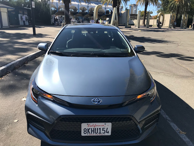 Front view of 2020 Toyota Corolla XSE