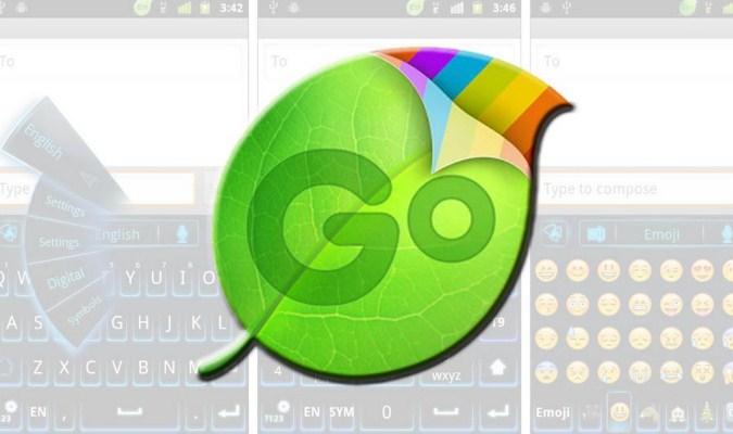 Aplikasi Keyboard Terbaik tuk iPhone - Go Keyboard