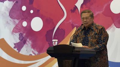 Mantan Presiden RI SBY Kritik Pidato Prabowo Tentang Indonesia Bubar 2030
