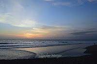 Senja Pantai Kayu Putih Bali
