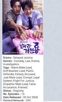 Drama Korea -Delayed Justice