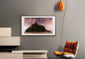 "Samsung TVs: UN65LS03NAFXZA Flat 65"" LED 4K UHD The Frame Smart TV 2019"