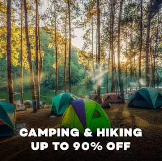 Camping & Hiking Up to 90% Off