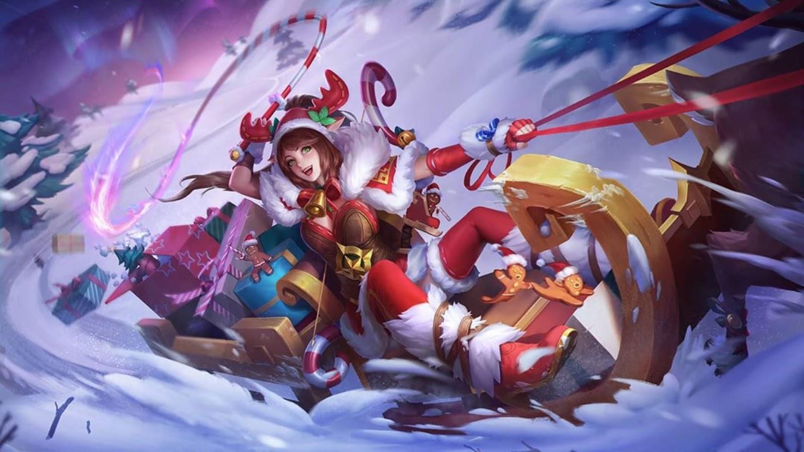 Wallpaper Miya Christmas Carnival Skin Mobile Legends HD for PC