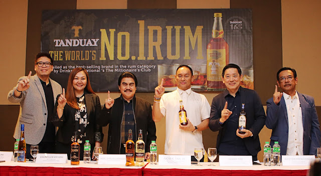 Tanduay Declared World's Number One Rum for Second Straight Year