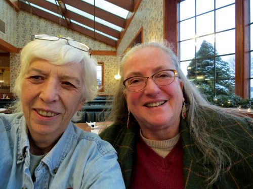 Joan Young and Ramona Venegas