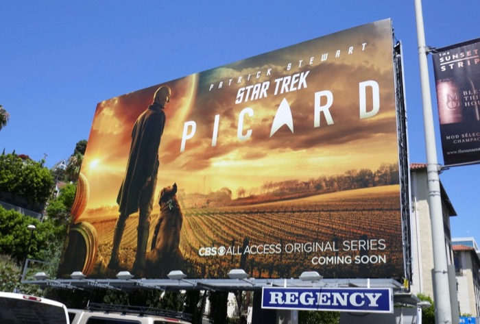 Star Trek Picard teaser billboard