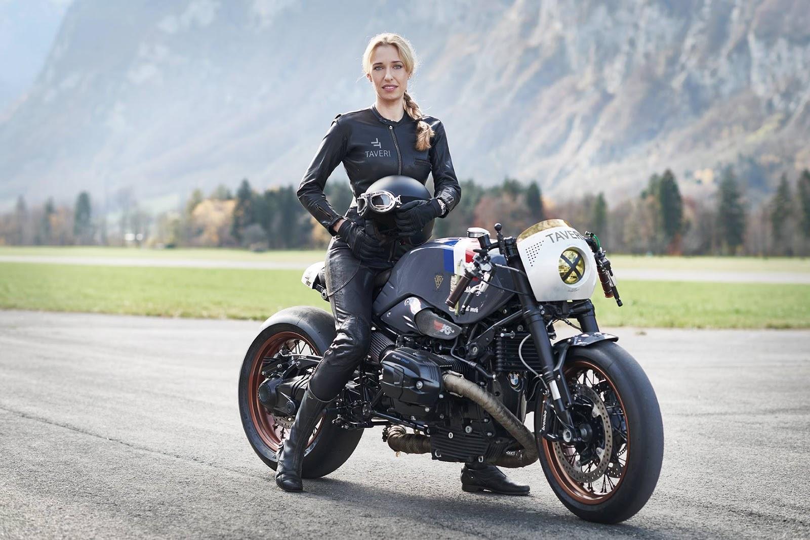 VTR Customs & Sabine Holbrook for Taveri Moto ...