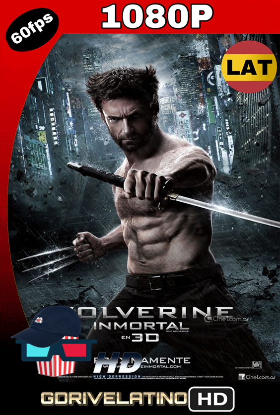 Wolverine Inmortal (2013) BDRip 1080p Latino-Ingles MKV