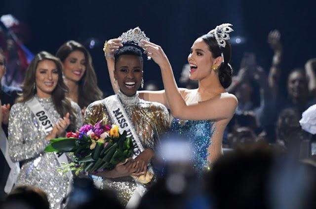 Mrembo kutoka Afrika Kusini aweka historia kwa kutwaa taji la Miss Universe 2019