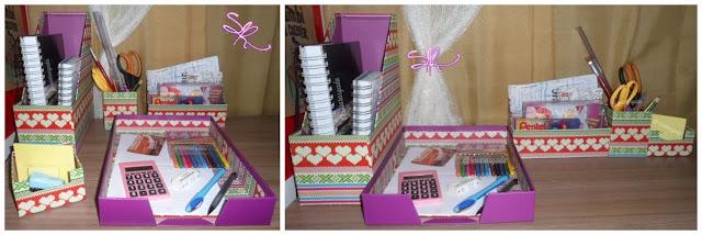 comprinhas Kit de Escritório feminino fofo escolar estudos organização decoração