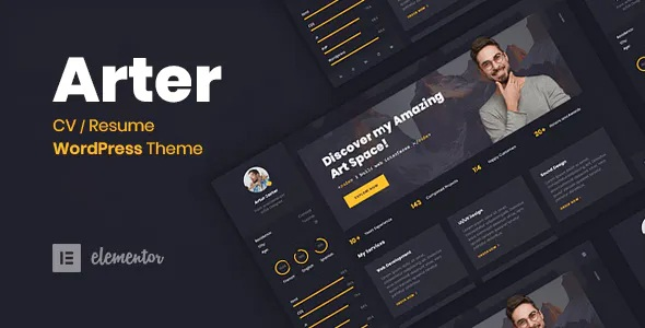 Best CV Resume WordPress Theme