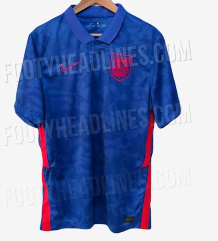England Euro 2020 away kit