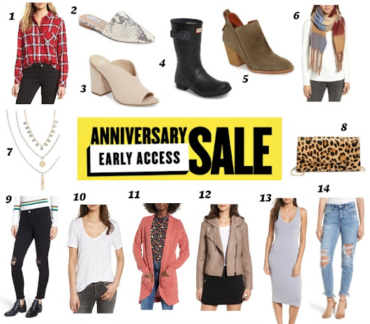First Look at the Nordstrom Anniversary Sale {Early Access}