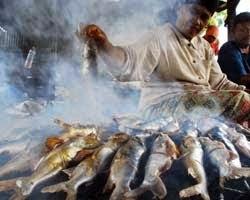 PROSES PEMBUATAN IKAN SALAI DENGAN CARA TRADISIONAL  ikan