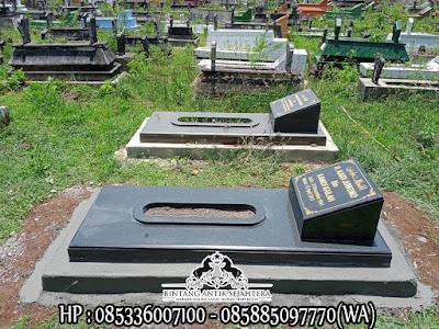 Makam Granit Minimalis Trap 1 | Contoh Makam Islam Terbaru