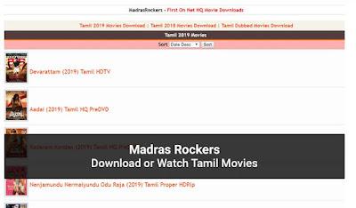 MadrasRockers com 2020
