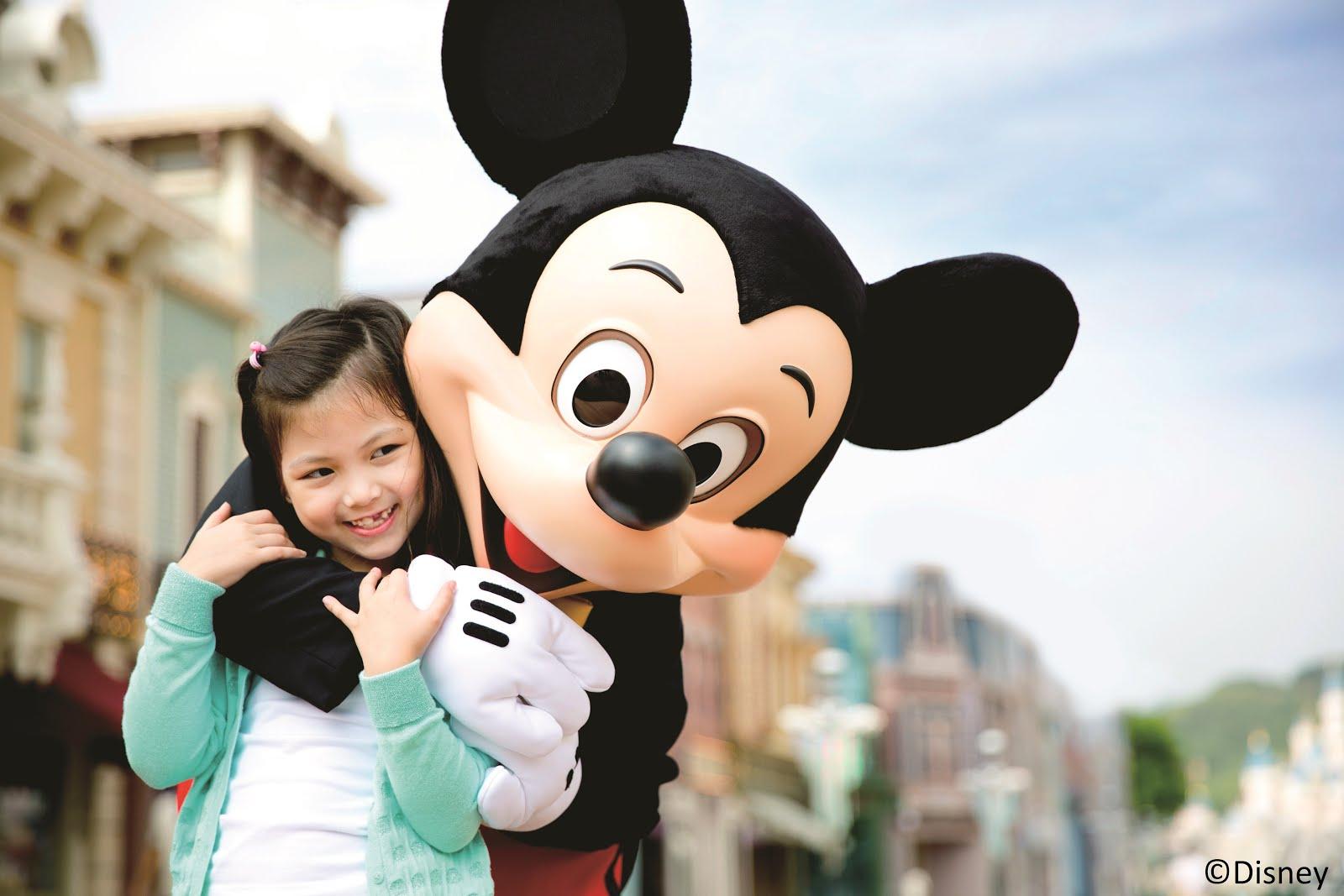 Mickey Mouse Experience at Disneyland, Hong Kong