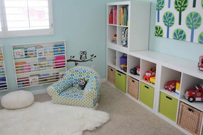 Bermain yaitu hal yang lumrah dilakukan anak 45 Desain Kreatif Tempat Bermain Anak di Dalam Rumah