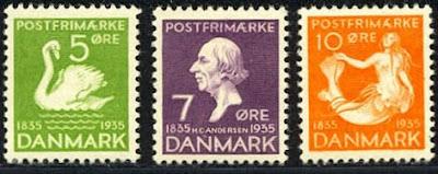 Denmark 1935 Hans Christian Andersen Set
