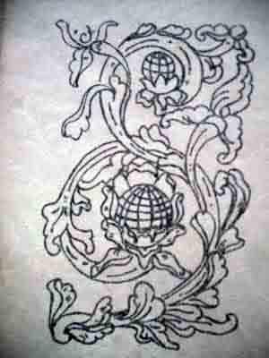 Motif ukiran Yogyakarta