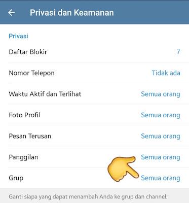 Cara Mengatasi Agar Akun tidak bisa di Undang ke Grup Telegram Promosi