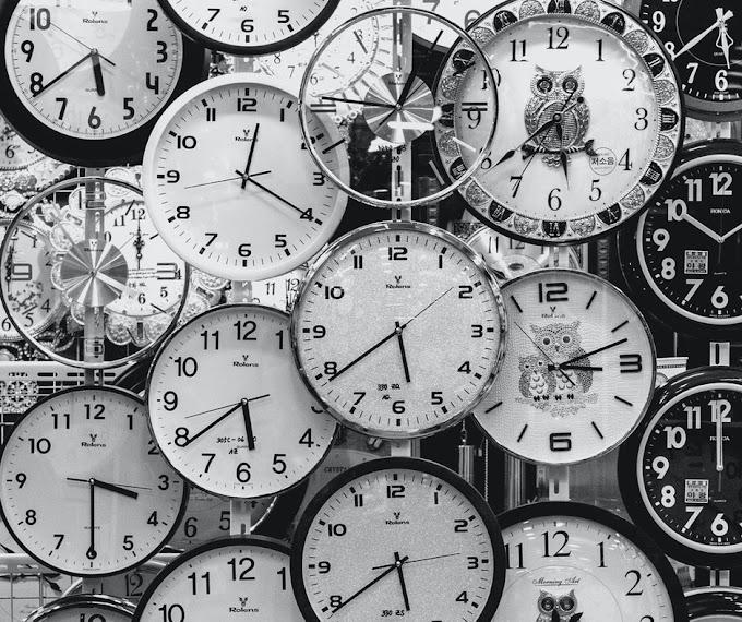 De que forma o tempo passa?