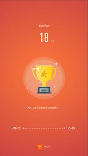 MyVlog - Neuer MiBand2 Rekord - Schritte! 18 Tage!