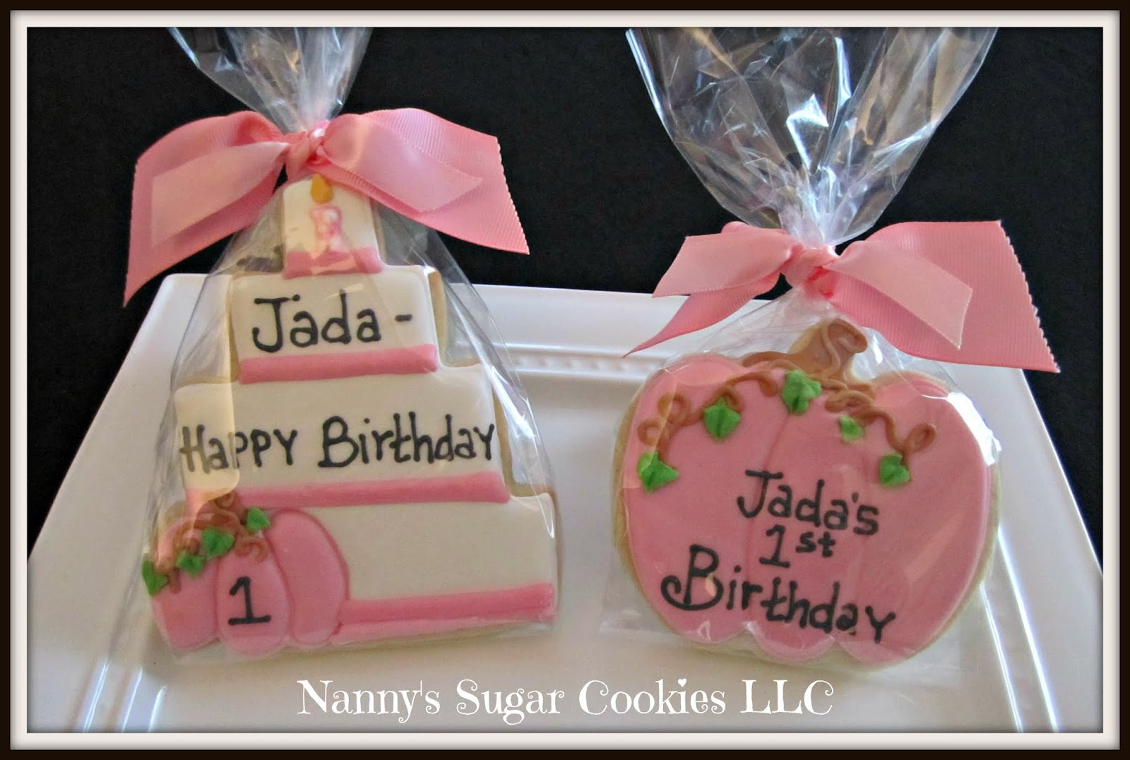 Nanny S Sugar Cookies Llc Happy Birthday