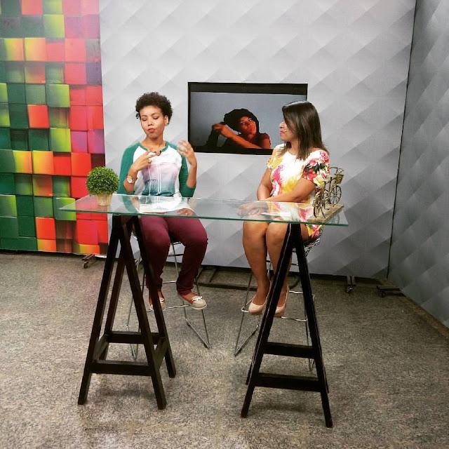 entrevista sobre cabelo cacheado,blog e canal