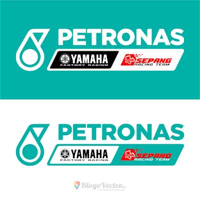 PETRONAS Yamaha SRT Logo Vector