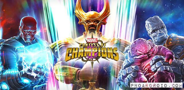 MARVEL Contest of Champions النسخة المهكرة