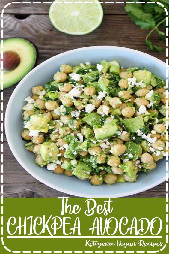 Craving for HEALTHY vegetarian recipes but your in a RUSH The Best CHICKPEA  AVOCADO