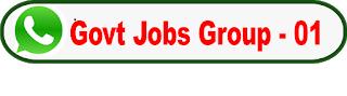 Latest govt job Whatsapp group Link -01