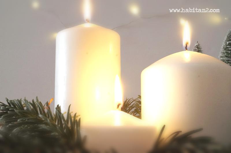 Centro navideño perfumado, aprende a hacerlo by Habitan2 | Tutorial como hacer un centro navideño perfumado | Decoración handmade de estilo nórdico en Navidad | Paso a paso para hacer tu centro de mesa de Navidad