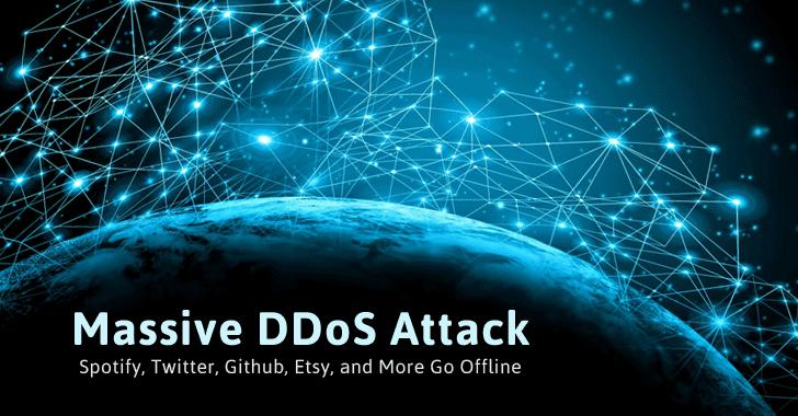 Massive DDoS Attack Against Dyn DNS Service Knocks Popular Sites Offline
